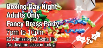 Boxing Night 7pm - 10pm OVER 18'S ONLY