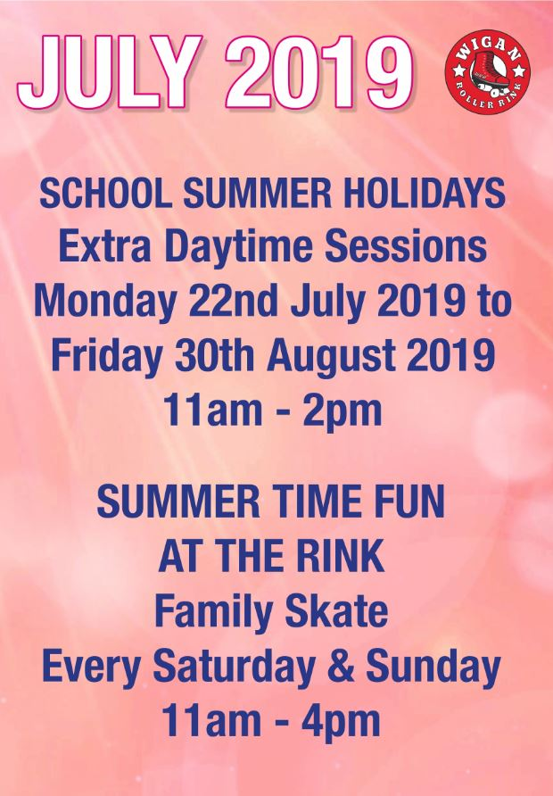 Summer Holidays Mon 22nd July - Fri 30th August 11am - 2pm