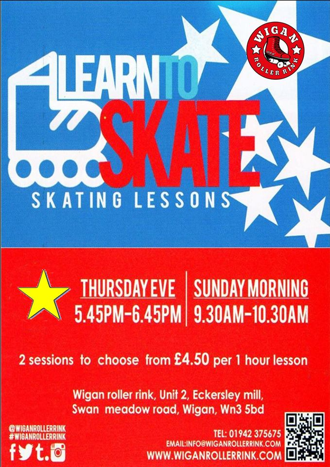 Learn To Skate - lessons for all ages