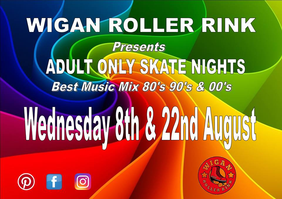 Over 18's Only Weds 8th & 22nd August 7pm - 10pm