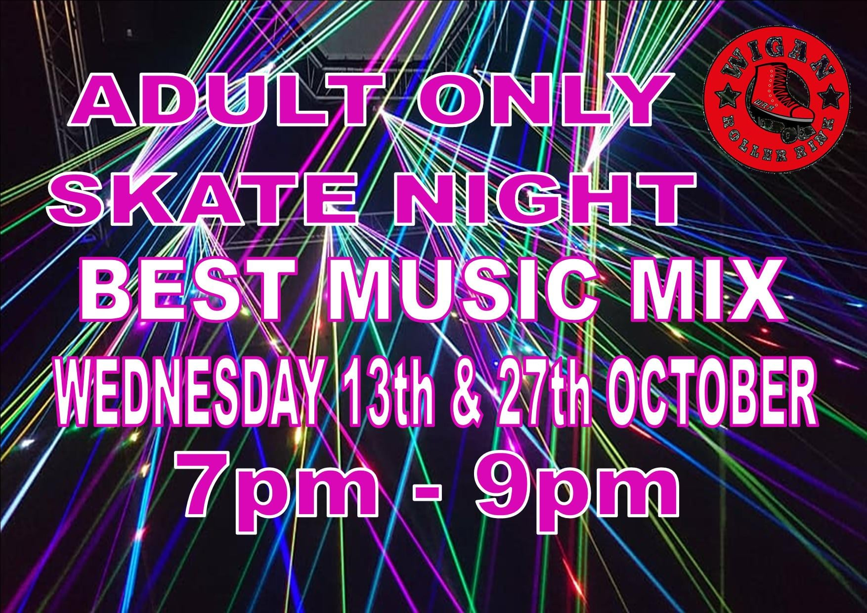 OVER 18'S ONLY SESSIONS 7pm - 9pm