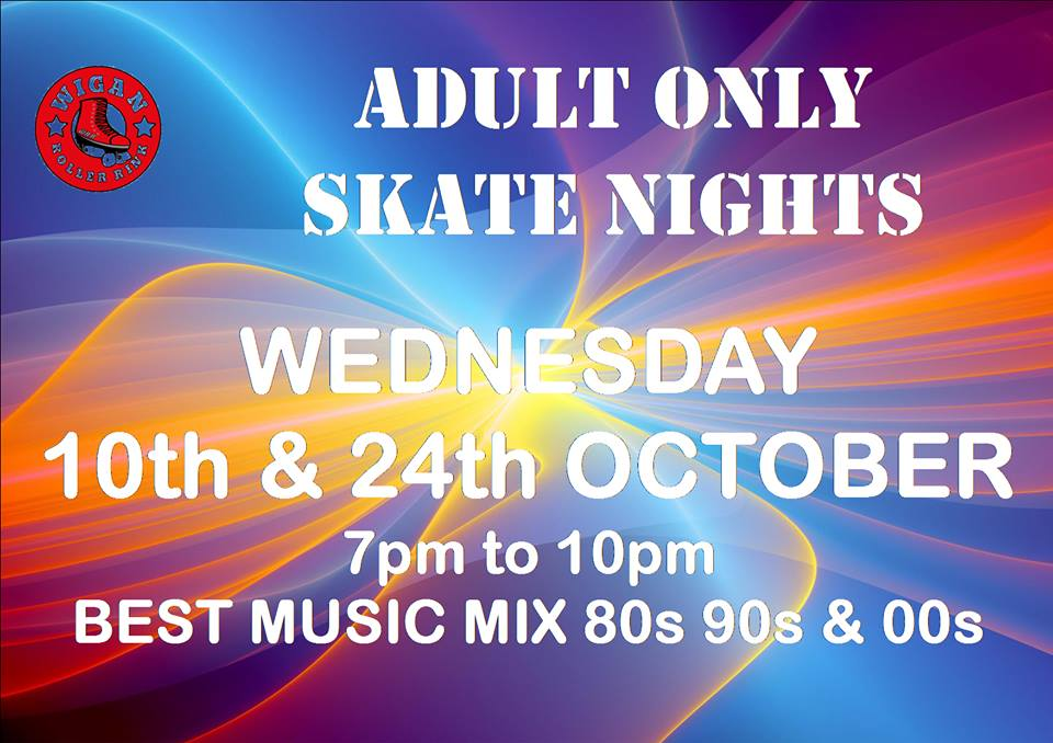 Over 18s only Weds 10TH & 24TH OCTOBER 7pm - 10pm