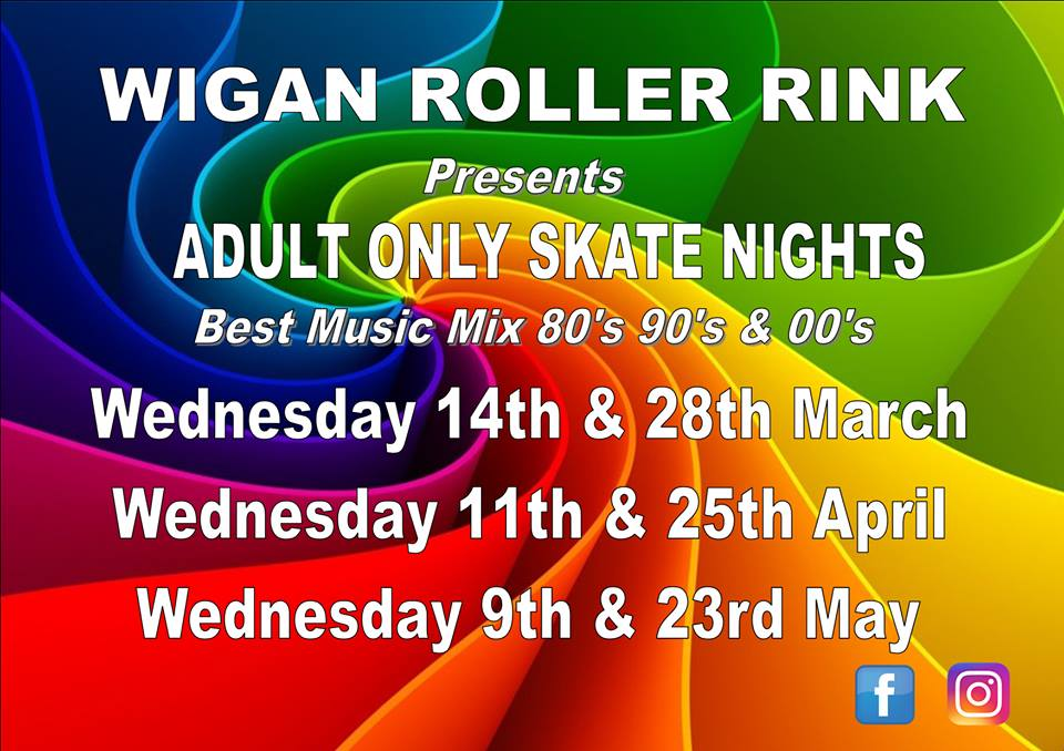 Over 18's Only Weds 9th & 23rd May 7pm - 10pm